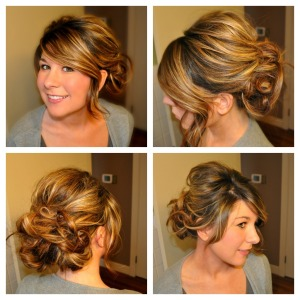 hairstyle collage